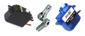 SERVO MOTORS & ACCESSORIES