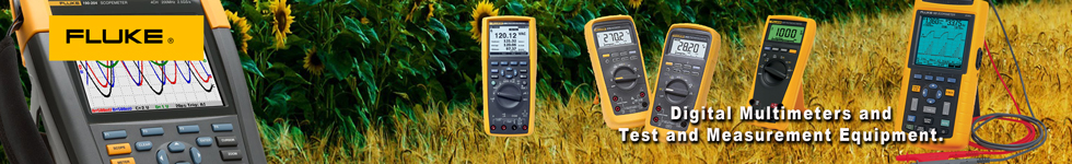 Fluke Digital Multimeter, Test and Measurement