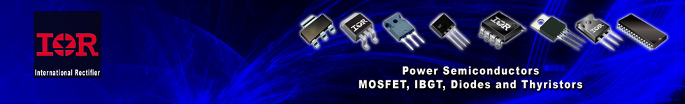 International Rectifier - Manufacturer of Power Semiconductors, MOSFET, IBGT, Diodes and Thyristors
