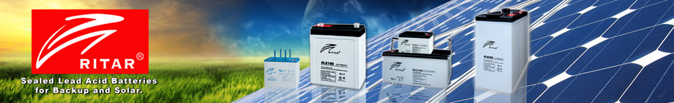 RITAR - Sealed Lead Acid Batteries for Backup and Solar