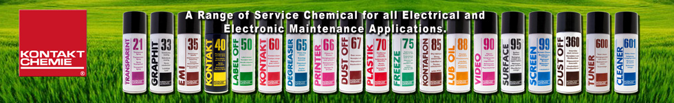 Kontakt Chemie - Service Chemicals for all Electrical and electronic maintenance applications