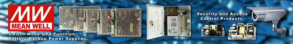 MEAN WELL - Security and Access Control Products