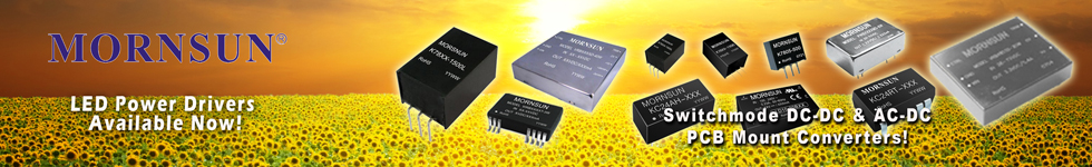 Mornsun DC-DC AC-DC Converter and LED Modules
