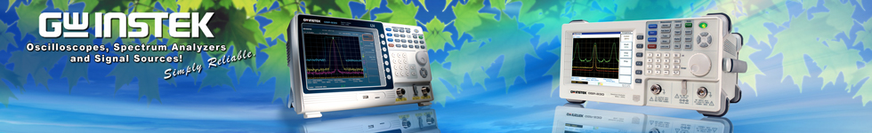 GW Instek - Oscilloscope, Spectrum Analyzers and Signal Sources!